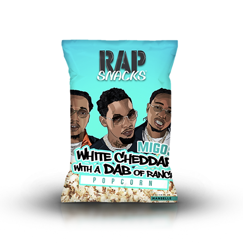 Migos | White Cheddar With A Dab Of Ranch Popcorn