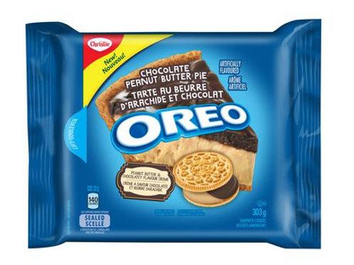 Oreo Choclate Peanut Butter Pie