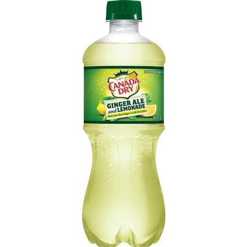 Canada Dry Ginger Ale - Lemonade