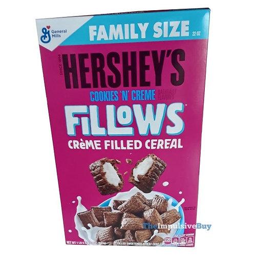 Hersheys cookies n cream fillows