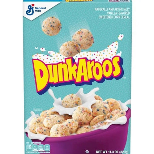 Dunkaroos Family Size Cereal US IMPORT
