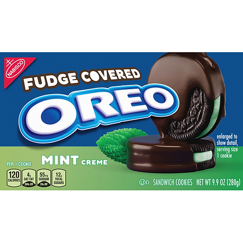 Fudge Covered Oreo Mint