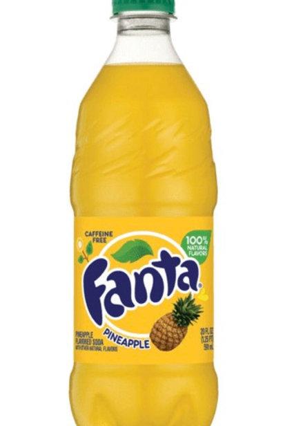 Fanta Pineapple 500ml Bottle