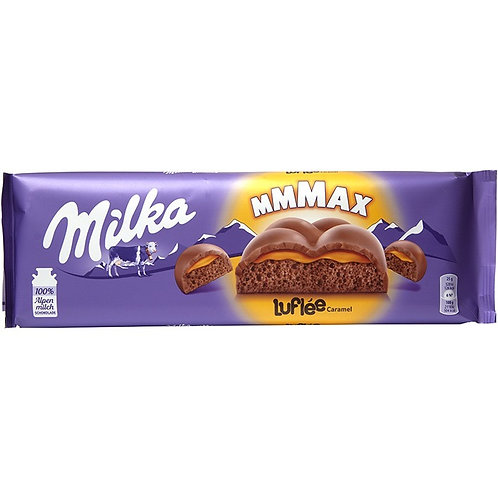 Milka Bubbly Caramel (Giant bar)