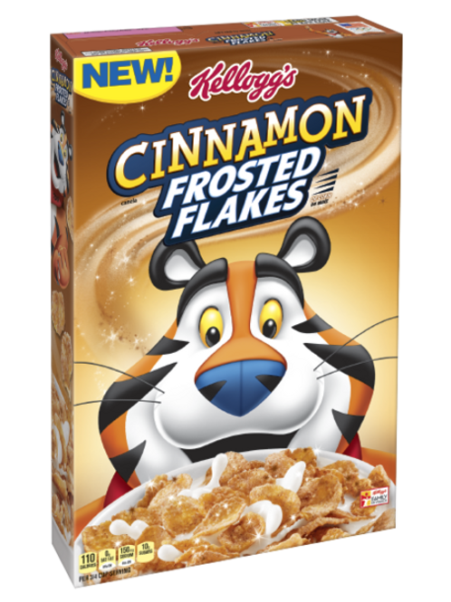Cinnamon Frosted Flakes Cereal