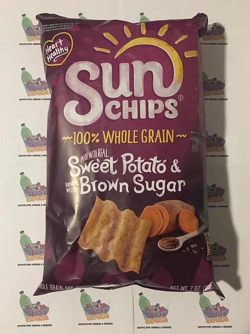 Sun Chips Sweet Potato Brown Sugar