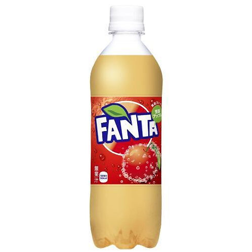 Fanta Rich Drinks Apple Flavor 490ml