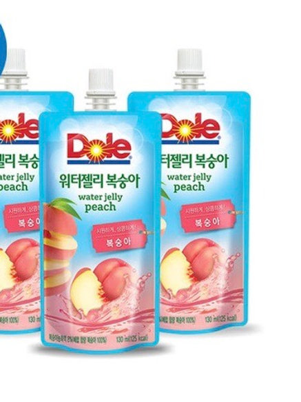 Dole Water Jelly Peach