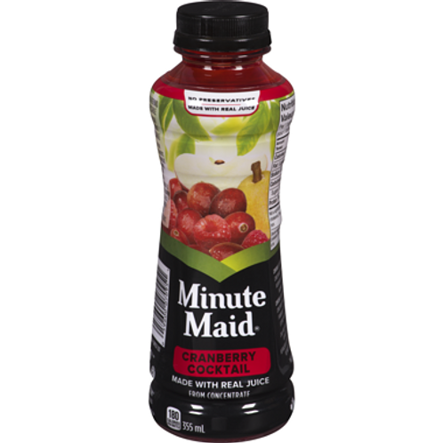 Minute Maid Cocktail Cranberry