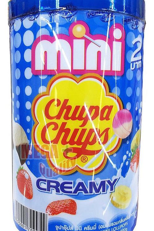Chupa Chups Creamy Mini Lollipops (50 pcs)