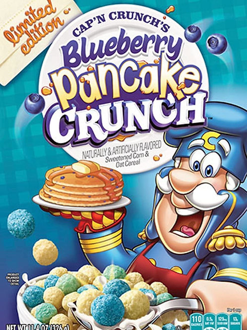 Blueberry Pancake Cap'n Crunch Cereal