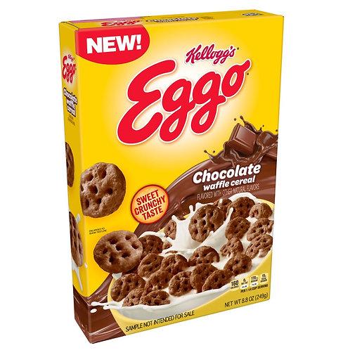 Eggo Chocolate Waffle Cereal