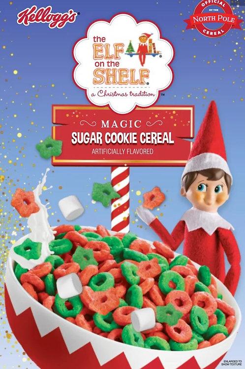 Elf On The Shelf Sugar Cookie