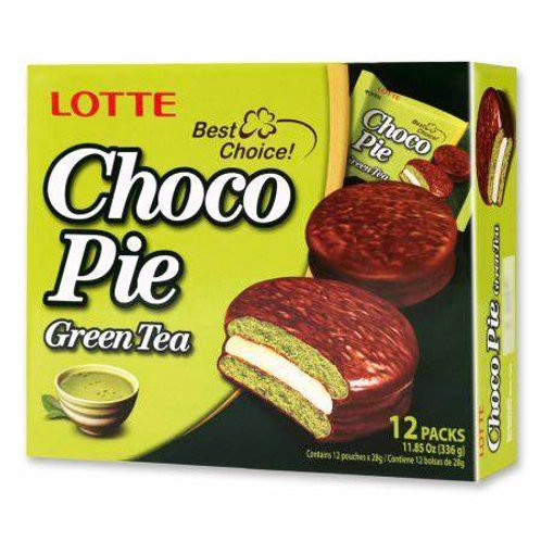 Choco Pie Green Tea 12 Pack