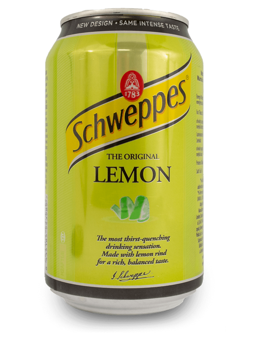 Schweppes Lemon 335ml Can