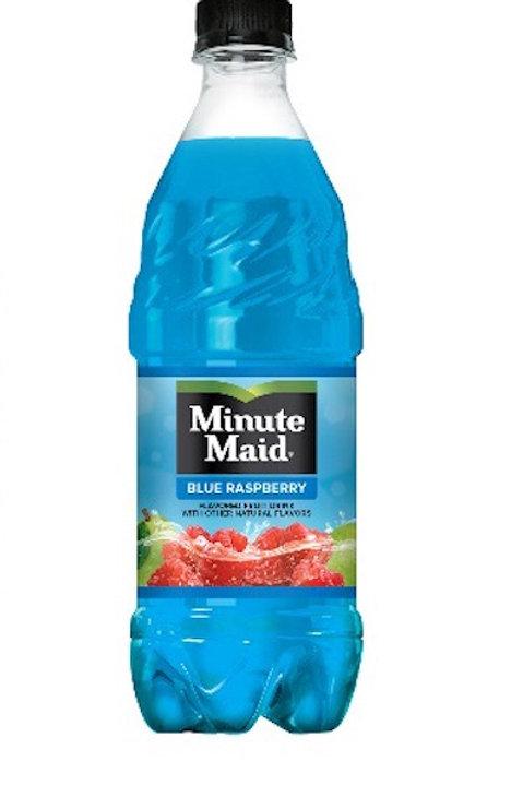 Minute Maid Blue Raspberry 591ml Bottle