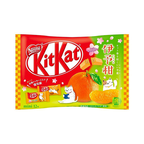 Kit Kat Japanese Mikkan Mandarin Orange - 12 pcs - 165g