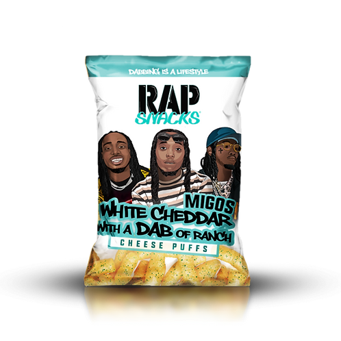 Migos | White Cheddar with a Dab of Ranch Cheese Puffs