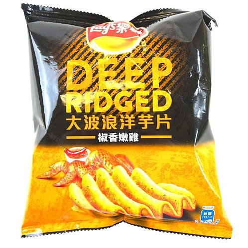 Lays Deep Ridged Pepper Chicken