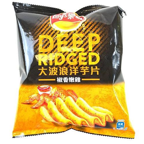 Lays Deep Ridged Pepper Chicken 72g