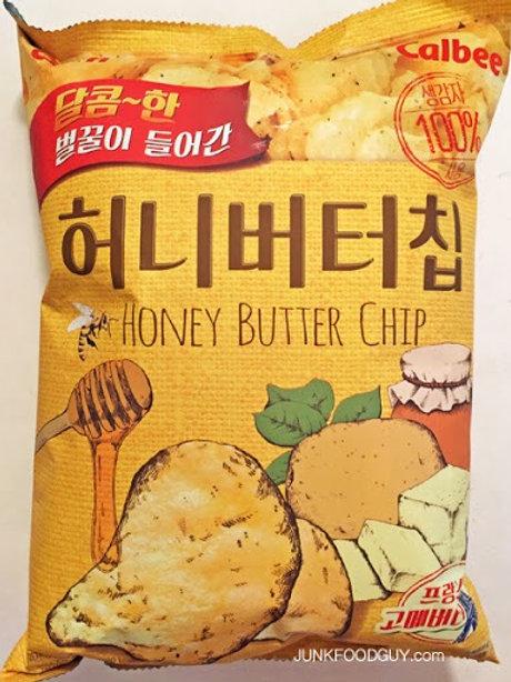 Honey Butter Chips 60g