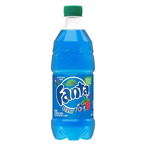Fanta Wild Berry 20oz Bottle