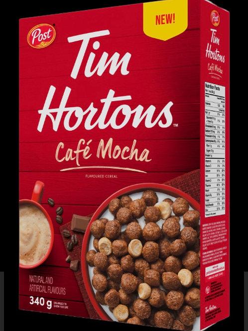 Tim Hortons Cafe Mocha Cereal