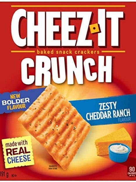Cheez It Zesty Cheddar Ranch
