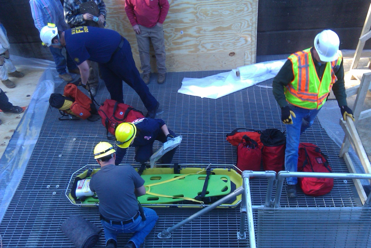 BLAKELY DRILL RESCUE