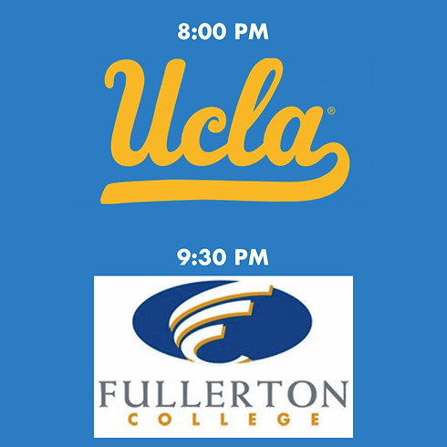 College Night feat. UCLA and Fullerton College