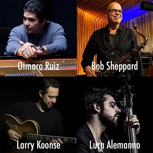 Otmaro Ruiz / Bob Sheppard / Larry Koonse / Luca Alemanno