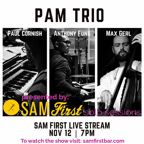 PAM Trio feat. Paul Cornish, Anthony Fung & Max Gerl