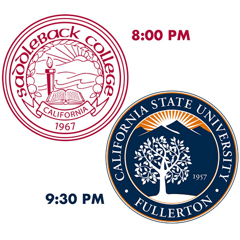 College Night feat. Cal State Fullerton and Saddleback College