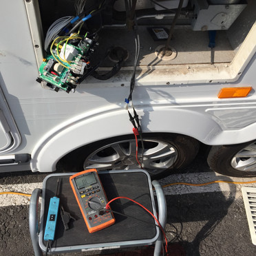 Caravan fridge diagnostic and repair