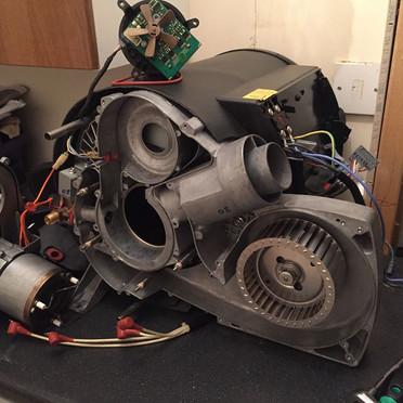 Truma combi boiler repair
