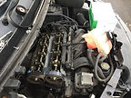 Motorhome timing belt replacement