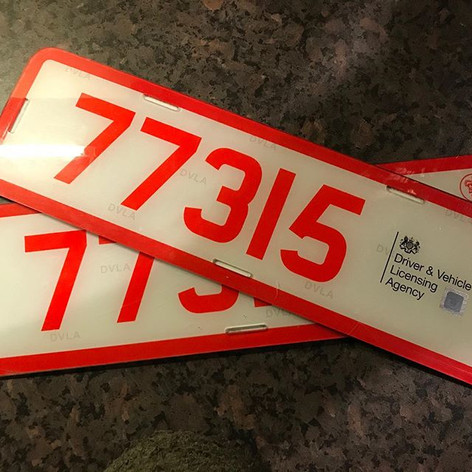 Trade plates renewed for another year. I