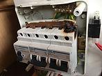 Caravan MCB fuse board repair