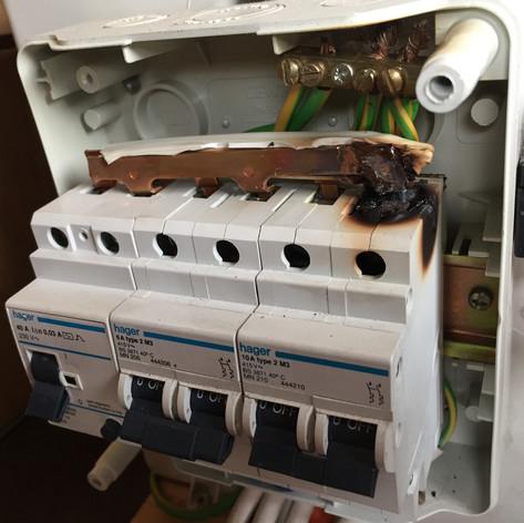 Caravan MCB fuse repair
