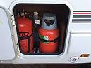 refillabe lpg gas bottles