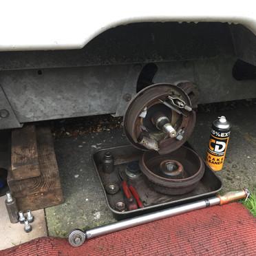 Caravan and motorhome brake repair