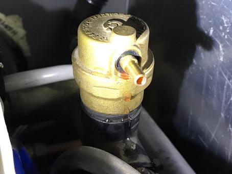 Alde heater repair.