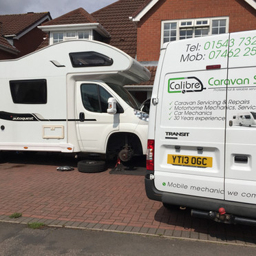 Motorhome chassis service