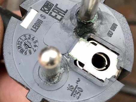 240v electric problem