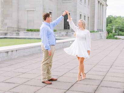 Downtown Jackson Engagement | Emileigh & Brady