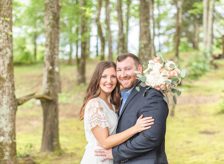Lakeside Spring Elopement | The Savells