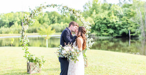 Mr. & Mrs. Stuart | Rustic Elopement