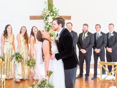 The Chapel at Livingston | Cooper Wedding