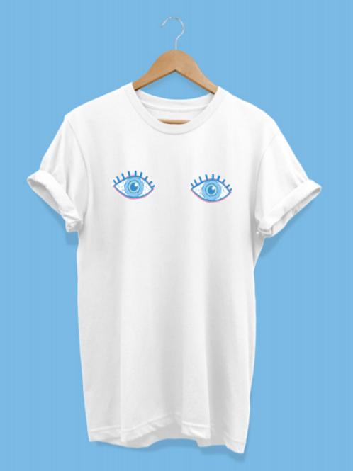 Camiseta ojos