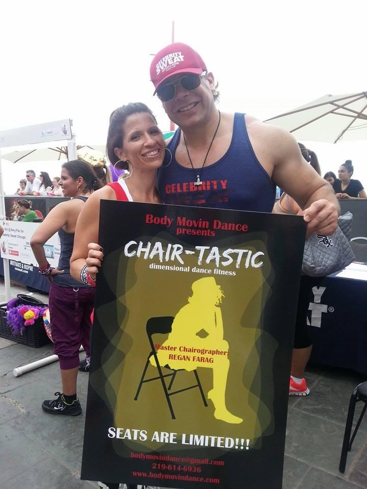 Celebrity Sweat eric the trainer 2